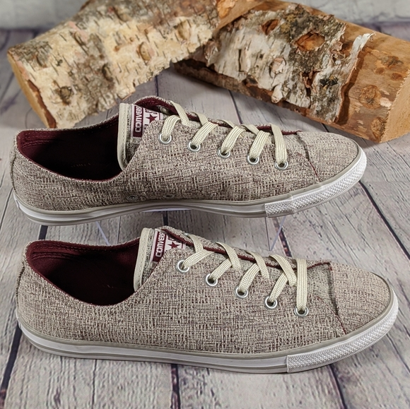RARE Converse CTAS Dainty Sparkle Knit Ox Sneakers